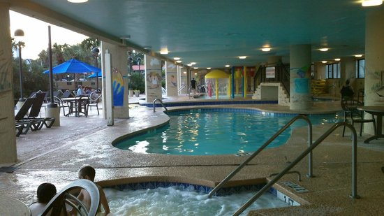 Indoor Pool Hot Tubs Picture Of Ocean Reef Resort Myrtle Beach Tripadvisor