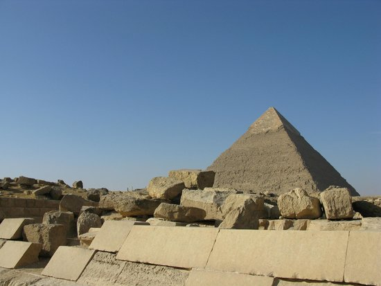 Khafre, the second pyramid: Vista