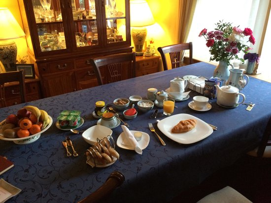 Bield B&B: breakfast room