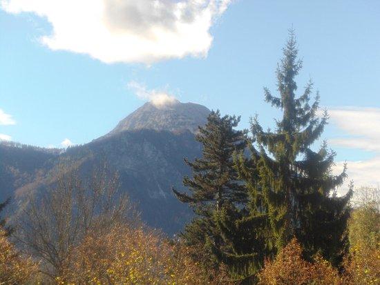 Alpenhotel Gösing: traumwetter mitte oktober