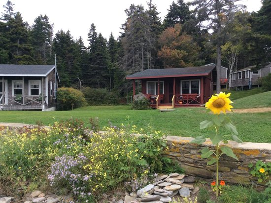Driftwood Inn and Cottages: Gray 2 BR is best, but red 1 BR is fine also