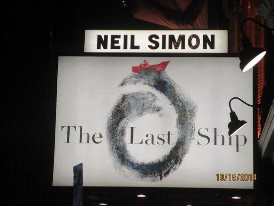 Neil Simon Theatre : Marquee