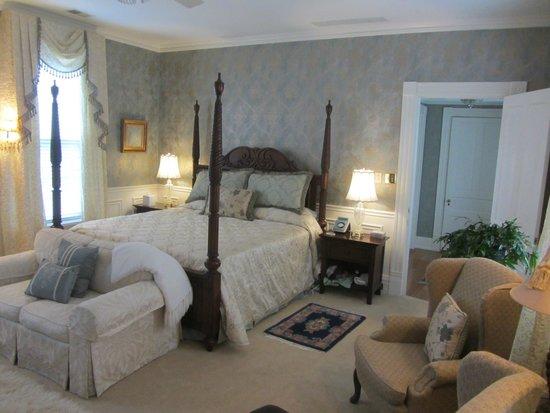 A Storybook Inn: Luxurious accomodations