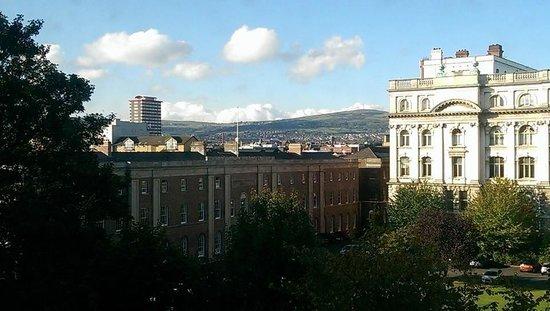 Jurys Inn Belfast: view from room 406