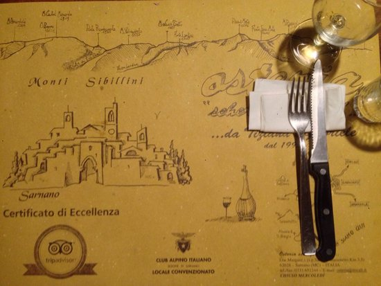 Osteria Scherzi A Parte : The best restaurante in sarnano