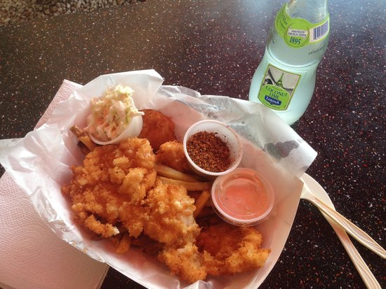 The Key Lime Cafe: Cracked Conch