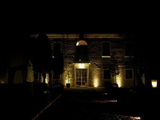 Villa Horti della Fasanara: La facciata della Villa