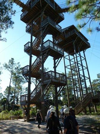 Forever Florida: zipline tower
