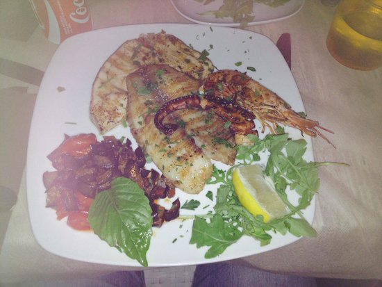 Il Vinacciolo: Tris di pesce alla brace