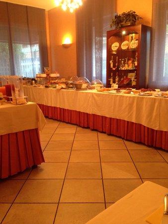 Gardenia: Sala colazioni