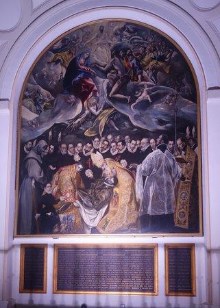 Iglesia de Santo Tome : El Greco