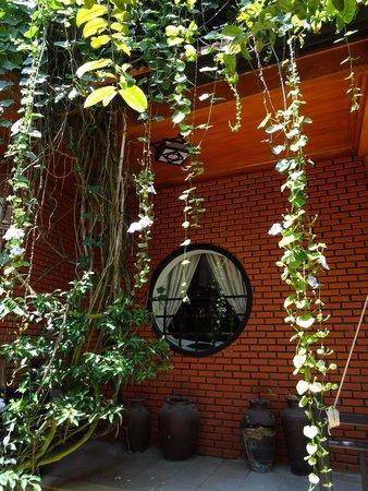 Betel Garden Villas: View towards our room