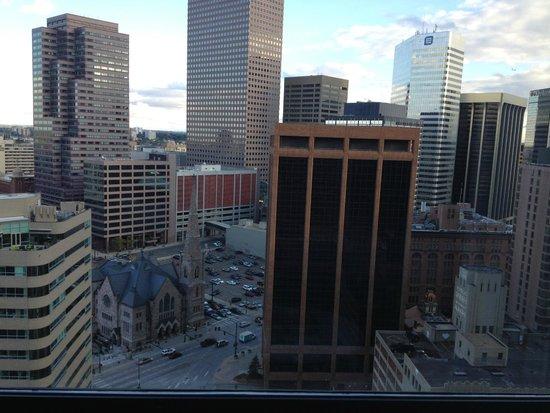 Grand Hyatt Denver Downtown : View from room 2424