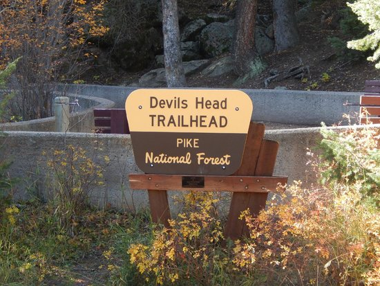 Devil's Head Fire Lookout: Trailhead
