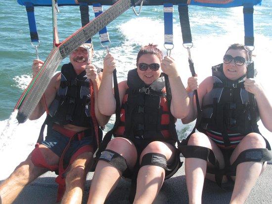 Ocean Watersports: Taking off