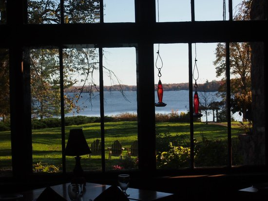Stout's Island Lodge: View from restaurant