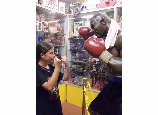 World's Largest Toy Museum : Fighting with Mike