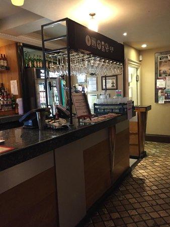 The Wye Bridge House: The Bar