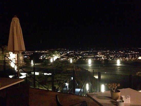 Vista Desde La Terraza De Noche Picture Of Parador De