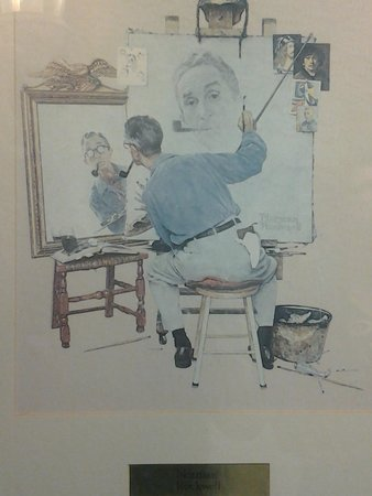 Voyageur Inn and Conference Center: Norman's self portrait