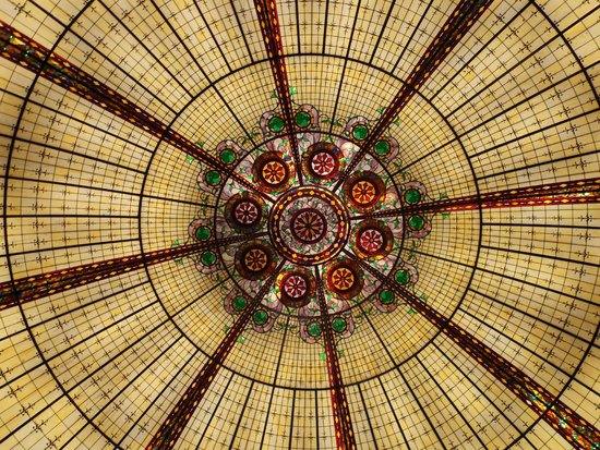 The Ceiling about the Fountain - Picture of Paris Las Vegas
