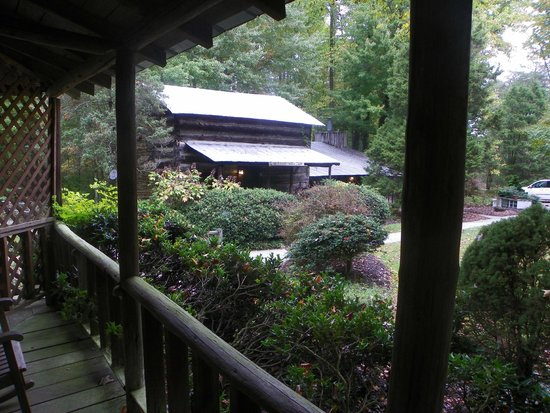 Pilot Knob Inn : View of nearby cabin from front porch