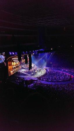 Inside Stockholm Globe Arena - Robbie Williams