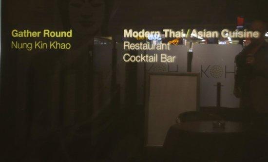 Koh Restaurant & Cocktail Lounge: Name 2