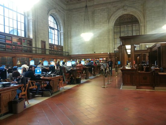 Sala digital picture of new york public library new for Sala new york