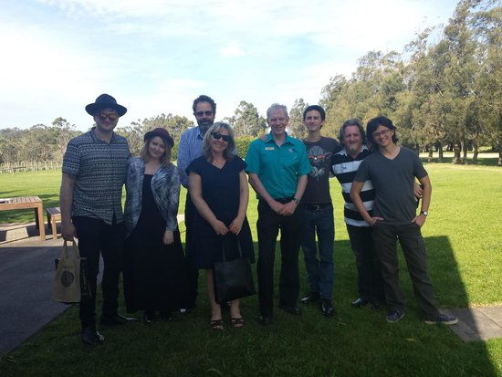 Wild Wombat Winery Tours: End of a most enjoyable day!