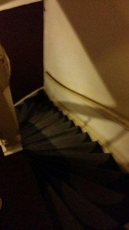 Maggy's Bed and Breakfast: Extremely steep stairs