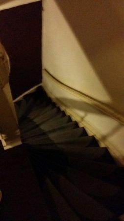 ماجيز جيست هاوس: Extremely steep stairs
