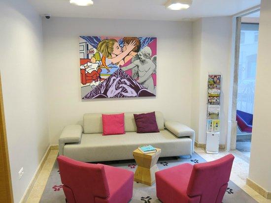 Sintra Bliss House: Área social do hotel