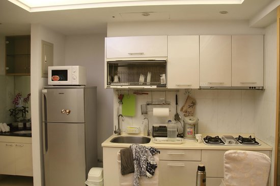 Gracehome Service Apartment: 厨房