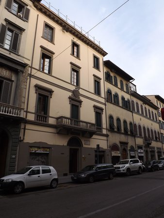 Hotel Casci : The hotel is on the second floor