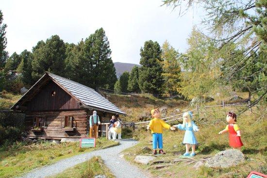 Patergassen, Østrig: la baita
