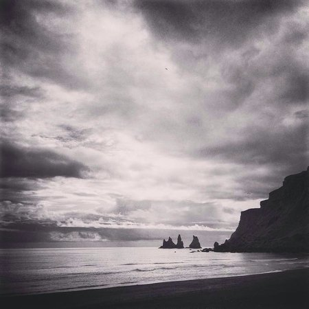 Reynisdrangar: View from the beach from the cityside (Vik I Myrdal). If you have time definitely drive around t