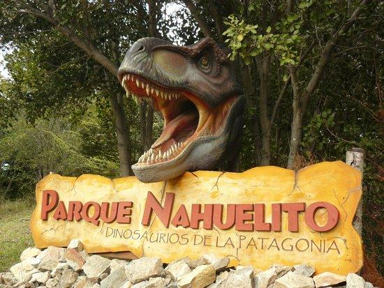 Parque Nahuelito: Entrada al parque