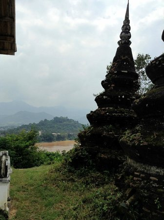Chompet: View of Luang Prabang from Wat Chomphet
