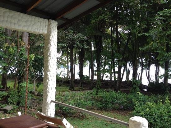 Coconut Grove Oceanfront Cottages: view from house