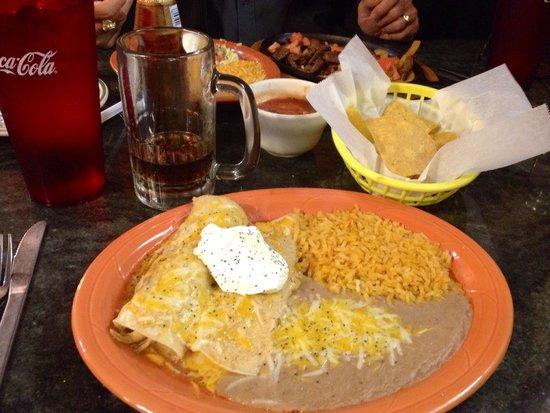 Best Enchiladas Around at Mi Ranchito