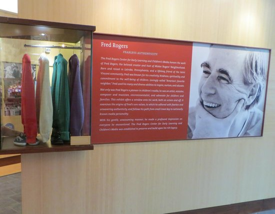Fred Rogers Center Picture Of Fred Rogers Exhibit Latrobe Tripadvisor