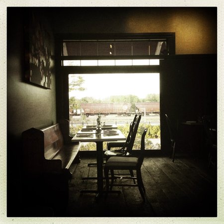 Dan Patch Coffee Depot: view from our table