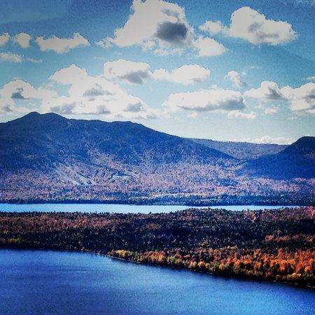 Moosehead Lake: Moosehead Lake and Big Squaw Mountain