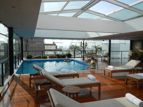 El Pardo DoubleTree by Hilton Hotel: roof top pool