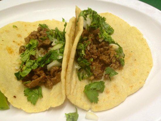 La Ceiba Restaurant: Carne Asada Tacos