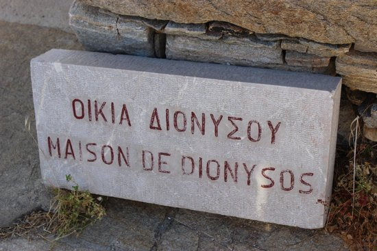 House of Dionysus : palca da maison