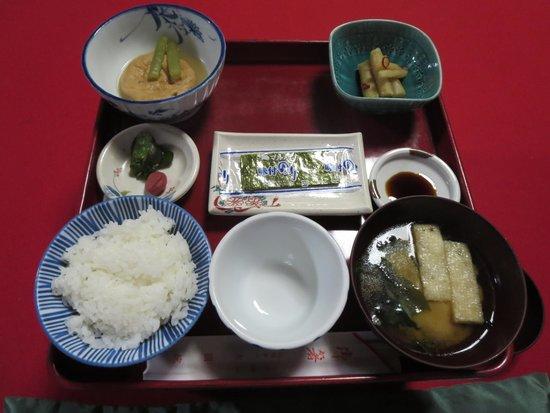 Daienin: 朝食