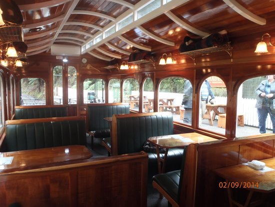 West Coast Wilderness Railway: Carriage in the Wilderness Class