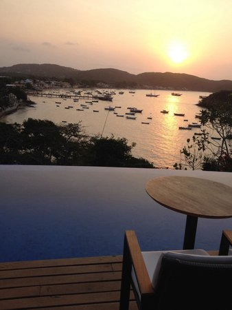 Mistico Sunset Lounge & Restaurant : Por do sol lindo demais